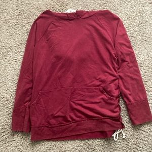 Red Pull over Hoodie from True Craft